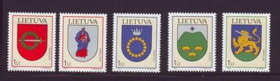 Lithuania Sc736-0 2003 Coat of Arms stamps NH