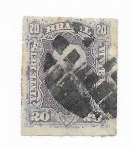 Brazil #69 Used - Stamp - CAT VALUE $3.00