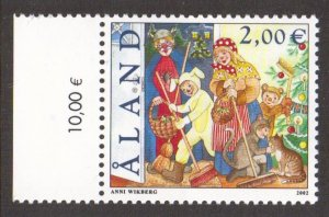 Aland islands  #202  MNH  2002   St. Canute`s day
