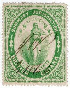(I.B) British Guiana Revenue : Summary Jurisdiction 16c (1865)