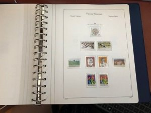 United Nations WIEN mnh collection album