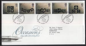 Great Britain 1948-1952 Occasions Typed FDC