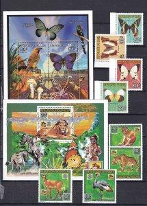 AFRICA ( Mali + Niger) ^^^1996  MNH Souv/sheet + sets( SCOUTS)  $$@ cam3863afric