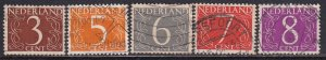 Netherlands (1953-57) #340-343A (2) used