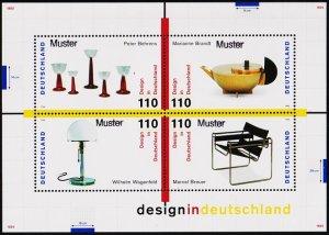 Germany. 1998 Miniature Sheet(Specimen) S.G.MS2865 Unmounted Mint