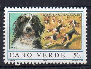CAPE VERDE - DOGS - BRACO - 1995 - 50. -
