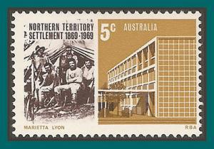 Australia 1969 NT Settlement, MNH #459,SG437