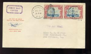 Scott #C11 Beacon  FDC First Day Cover with Milton Mauck Cachet  (#C11-Z42 FDC)