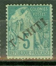 Tahiti 8 mint CV $55