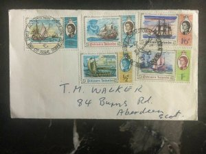 1967 Pitcairn Islands First Day Cover FDC The Discovery Complete Set Of Stamps