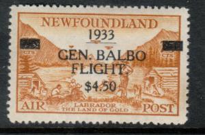 Newfoundland #C18 Extra Fine Mint Original Gum Lightly Hinged *With Certificate*