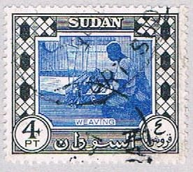 Sudan Weaver 4     ,    variety world stamps