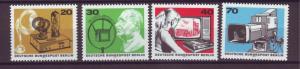J20719 Jlstamps 1973 berlin germany set mnh #9n343a-d broadcasting