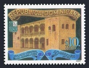 Dominican Rep 1439,MNH. Palace of Columbus,2007.