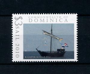 [78722] Dominica 2009 Sail Ships Kamper Kogge  MNH