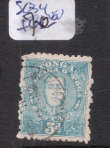 Tonga SG 34 VFU (3dgx)