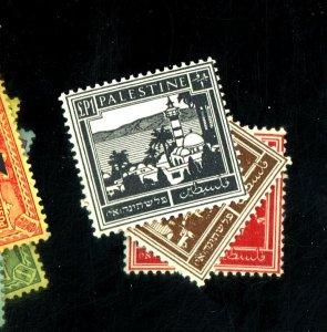 Palestine #82-84 MINT FVF OG 82 LH 83-4 NH Cat$25