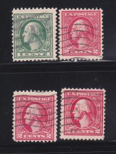 United States 525, 527-528A U George Washington