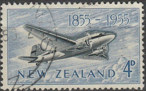 New Zealand, #304 Used, From 1955