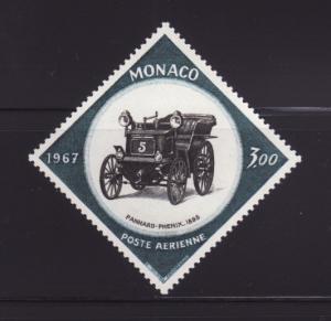 Monaco C73 Set MNH Antique Car, Panhard-Phenix (A)