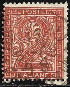 Italy 1865 Scott# 25 Used