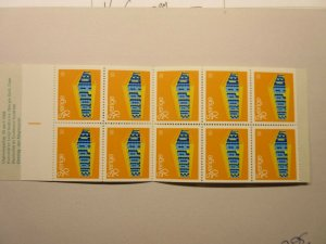 SWEDEN  Scott  816a  complete booklet  MNH  LotE  Cat $17.50