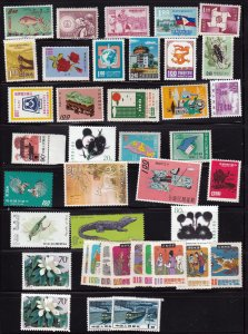CHINA PRC MNH Group of 40 stamps all MNH Perfect gum