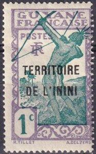 Inini #1  Unused  (S10271)