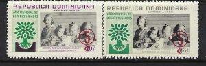 DOMINICAN REPUBLIC C113-14 MNH A852-2