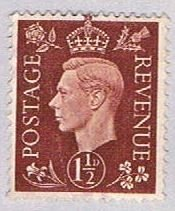 Great Britain King George VI one and a - wysiwyg (AP103218)