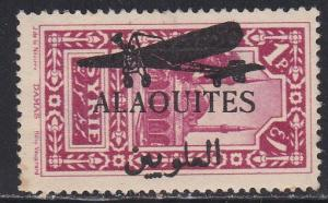 Alaouites # 32, Syrian stamp overprinted, hinged with thin spot, 10% Cat.