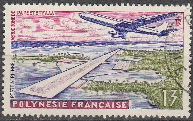 French Polynesia #C28   F-VF Used    (A13075)