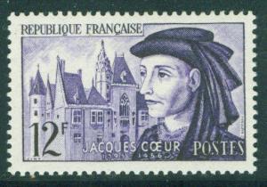 France Scott 772 MH* Jacques Coeur 1955