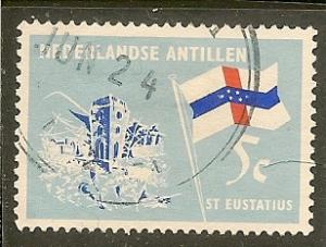 Netherklands Antilles  Scott  299    Flag   Used