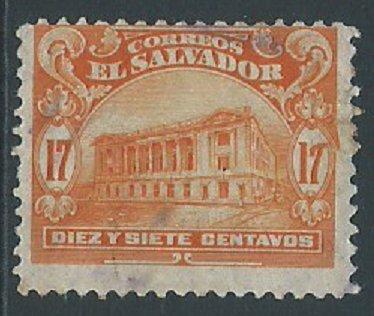 El Salvador, Sc #437, 17c Used