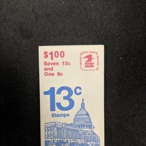 U.S. BK131 complete booklet, CV $2.50