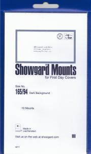 SHOWGARD BLACK MOUNTS 165/94 (10) RETAIL PRICE $8.35