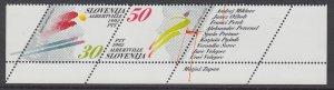 Slovenia 134 Winter Olympics MNH VF