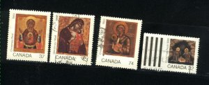 Can #1222-25    used VF 1988 PD