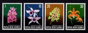Papua New Guinea 1974 Flora Conservation Set [Mint]