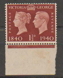 GB George VI  SG 481 mounted mint