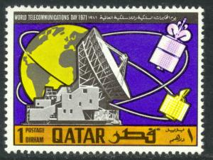 QATAR 1971 1d World Telecommunications Day Sc 244 MNH