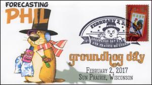 17-382B, 2017, Ground Hog Day, Sun Prairie WI