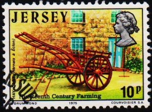 Jersey. 1975 10p S.G.122 Fine Used
