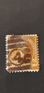 US #283 Used Fancy Cancel