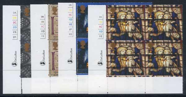 SG2170-73 2000 Spirit and faith Set in Cylinder Blocks of 4 U/M