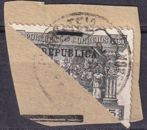 Portugal #193 Bisect On Small Piece    (Z3226)