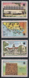 Belize Scott #668-671 MNH