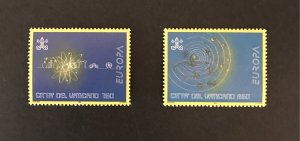 Vatican City Europa 1994 #953-54 MNH SCV $2.05