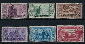 Italy #258-63 CV $31.20